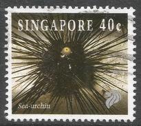 Singapore. 1994 Reef Life. 40c Used. SG 747 - Singapore (1959-...)