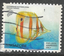 Singapore. 2001 Tropical Marine Fish. (22c) - For Local Addresses Only Used. SG 1129 - Singapore (1959-...)