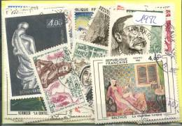 France  Années Completes (o) 1982 (74 Timbres)