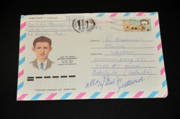 5- Envelope From Cuba To Holland - Cuba
