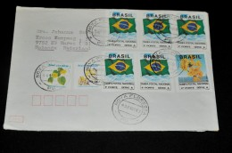 6- Envelope From Brasil To Holland - Brieven En Documenten