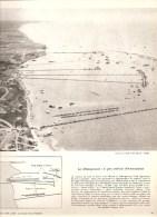 Le Débarquement: Le Pont Artifiel D´Arromanches Documentation Photographique De 1962 - Documents