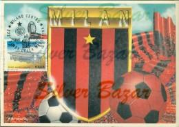 Milan- Derby Della Madonnina-annullo Speciale  20/11/1994 - Marcofilia - Cartolina Cm 17 X 12 - Fútbol