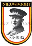 ROYALTY / Belgium / Belgique / Koning Albert I / Roi Albert I / King Albert I / Zelfklever / Nieuwpoort / 1982 - Unclassified