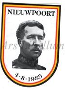 ROYALTY / Belgium / Belgique / Koning Albert I / Roi Albert I / King Albert I / Zelfklever / Nieuwpoort / 1985 - Unclassified