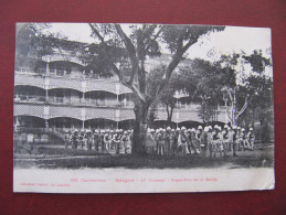CPA - SAÏGON - COCHINCHINE - 11° COLONIAL - INSPECTION DE LA GARDE - Viêt-Nam