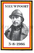 ROYALTY / Belgium / Belgique / Koning Albert I / Roi Albert I / King Albert I / Zelfklever / Nieuwpoort / 1986 - Unclassified