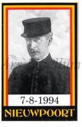 ROYALTY / Belgium / Belgique / Koning Albert I / Roi Albert I / King Albert I / Zelfklever / Nieuwpoort / 1994 - Unclassified