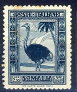 1932 - Somalia - Pittorica 1° Emissione Lire 2,55 - Somalia