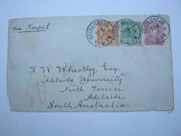 1890 , Ganzsachenvorderseite Aus GEISENHEIM Nach Australien - Deutschland