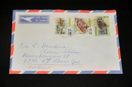 2- Envelope From Zimbabwe To Holland - Zimbabwe (1980-...)