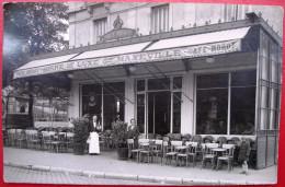 21 - CARTE PHOTO - DIJON - Cafe MOROT - Hotel - Rue Du Marechal Foch - Dijon