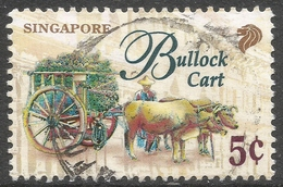 Singapore. 1997 Transportation. 5c Used. SG 869 - Singapore (1959-...)
