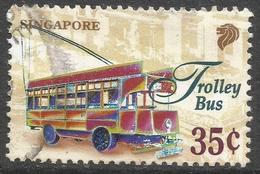 Singapore. 1997 Transportation. 35c Used. SG 873 - Singapore (1959-...)