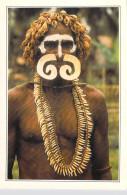 Océanie  -Papouasie-Nouvelle-Guinée- Papua New Guinea Asmat Warrior (A)  * PRIX FIXE - Papua New Guinea