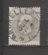 COB 35 Oblitéré BRUXELLES 3 Catalogue 2016 COBA +4 - 1869-1883 Leopold II