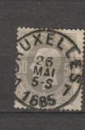 COB 35 Oblitéré BRUXELLES 7 Catalogue 2016 COBA +1 - 1869-1883 Leopold II