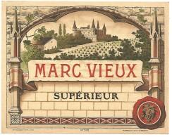ETIQUETTE MARC VIEUX - Etiketten