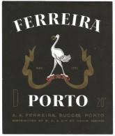 ETIQUETTE PORTO FERREIRA - Zonder Classificatie