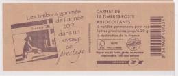 FRANCE CARNET 590 C13 LIVRE DES TIMBRES - Uso Corrente