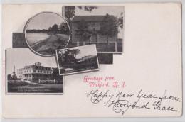 Greetings From WICKFORD (Rhode Island) - Multiview 1905 - Etats-Unis
