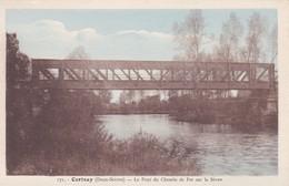 79----RARE----CERIZAY---le Pont Du Chemin De Fer Sur La Sévre--voir 2 Scans - Cerizay