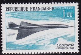 France PA N°43 Variété Tache Noire Après La Légende. Neuf ** SUP - Poste Aérienne