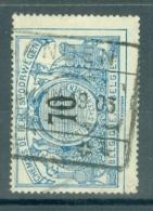 """BELGIE - OBP Nr TR 23- Cachet  """"LANDEN"""" - (ref. AD-8346) - Chemins De Fer"""