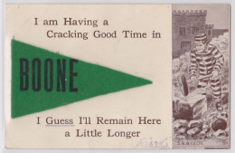 I Am Having A Cracking Good Time In BOONE (Iowa) - Prisoner - Prisonnier - Prison - Etats-Unis