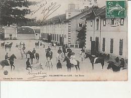 142.Villeneuve Sur Lot-Les Haras.Lib.Chabrié. - Villeneuve Sur Lot