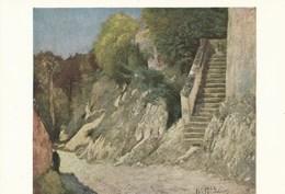 8970) STOCKHOLM NATIONALMUSEUM HILL TRAPPGATA I MONTIGNY SUR LOING NON VIAGGIATA - Peintures & Tableaux