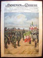 Domenica Del Corriere 32-1919, Cerimonia Miliatare A Epernay - Primavera Italica - Ohne Zuordnung