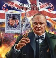 SIERRA LEONE 2016 - Winston Churchill S/S. Official Issue. - Sir Winston Churchill
