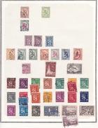Finlande - Collection Vendue Page Par Page - Timbres Oblitérés / Neufs* (avec Charnière) - Qualité B/TB