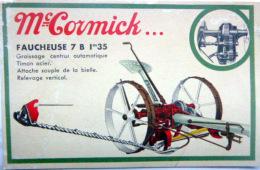 AGRICULTURE MAC CORMICK FAUCHEUESE  CARTE PUBLICITAIRE - Landbouw