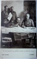 RUSSIE NICOLAS 2 LE TSAR AU QUARTIER GENERAL DU GRAND DUC NICOLAS - Rusland