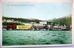AMERIQUE USA  ALASKA KETCHIKAN  THE WATER FRONT - Etats-Unis