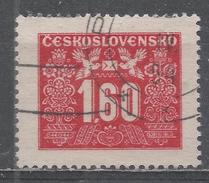 Czechoslovakia 1946 Scott #J76 Postage Due, Numeral (U) - Timbres-taxe