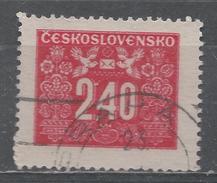 Czechoslovakia 1946. Scott #J78 (U) Postage Due, Numeral - Timbres-taxe