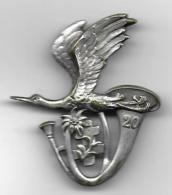20 E  Bataillon Chasseurs Alpins  - Insigne Drago Paris Nice Déposé - Badges & Ribbons