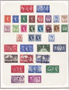 Grande Bretagne - Collection Vendue Page Par Page - Timbres Oblitérés / Neufs* (avec Charnière) - Qualité B/TB - 1952-.... (Elizabeth II)