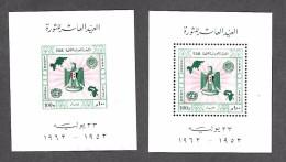 Egypt  564 SS Mint NH Perf & Imperf CV 5.00 - Egypt