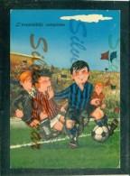 MILAN - MARCOFILIA- ANNULLO SPECIALE 7/6/1993.-MILAN CAMPIONE NAZIONALE DI CALCIO 1992/93 - Humor