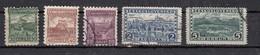 Tchecoslovaquie  Sèrie Courante 1926  5 Valeurs - Oblitérés