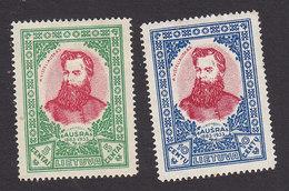 Lithuania, Scott #272-273, Mint Hinged, A. Visteliauskas, Issued 1933 - Lithuania