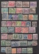 Tchecoslovaquie Lot De 48 Timbres   Avant 1939 - Oblitérés
