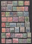Tchecoslovaquie Lot De 46 Timbres   Avant 1939 - Oblitérés