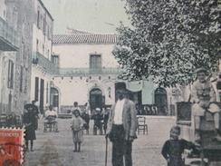 CPA 34 Hérault Pomérols Jeu De Ballon Colorisée Et Animée - Other Municipalities