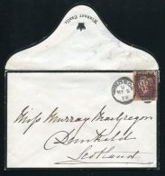 COVER FROM WINDSOR CASTLE TO DUNKELD SCOTLAND CANCELLED WINDSOR 890 1879 - Other Collections