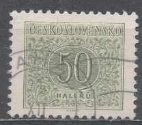 Czechoslovakia 1955 Scott #J85 Postage Due, Numeral (U) Perf 11 1/2 - Timbres-taxe